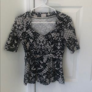 Anthropologie top woman's XS